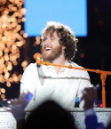 Mike Posner performing the Detroit Lions Thanksgiving Halftime Show