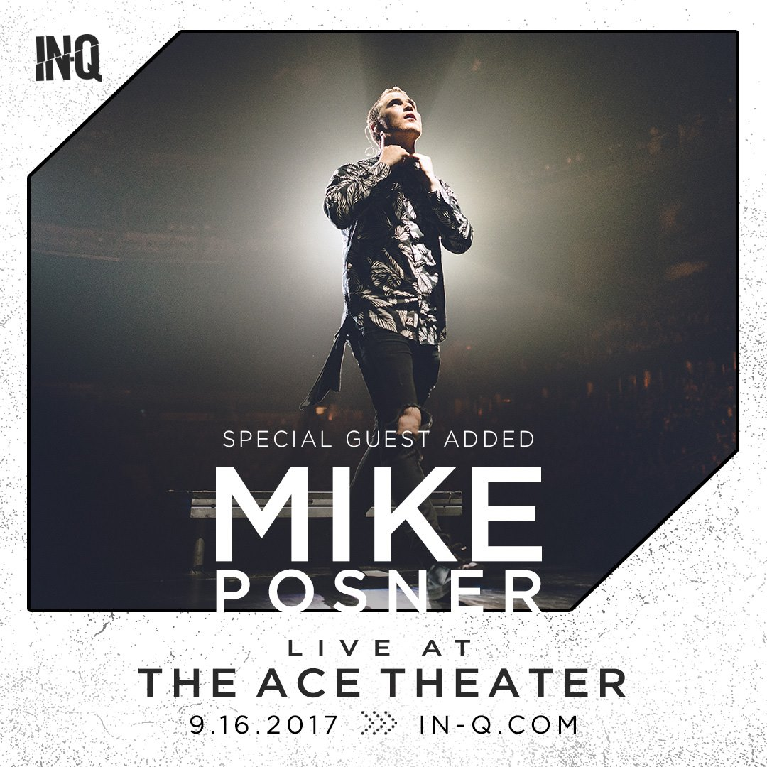 Mike Posner live in Los Angeles, CA on September 16, 2017