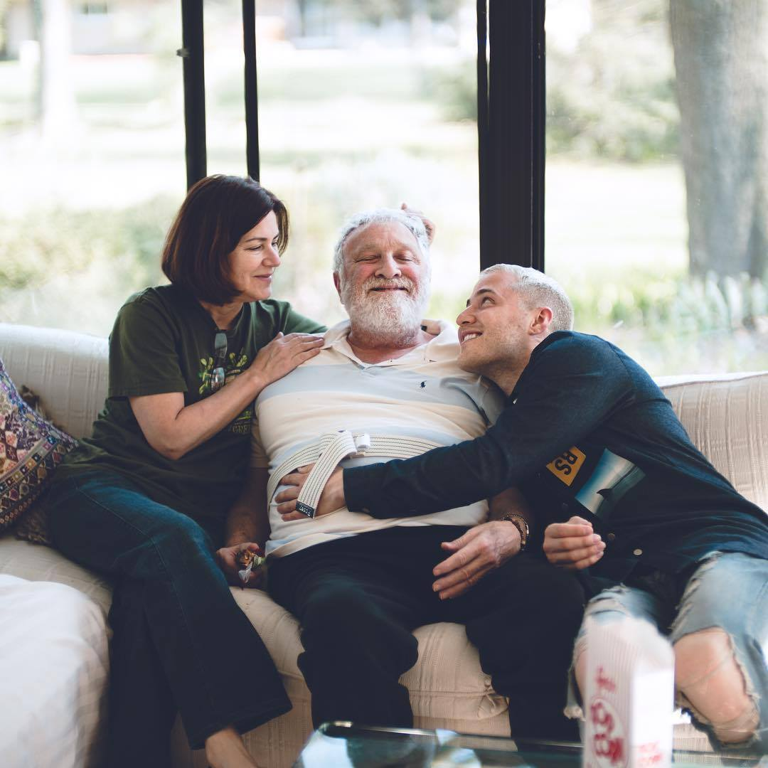 Mike Posner with his Mom and Dad in Southfield, MI - May 2016