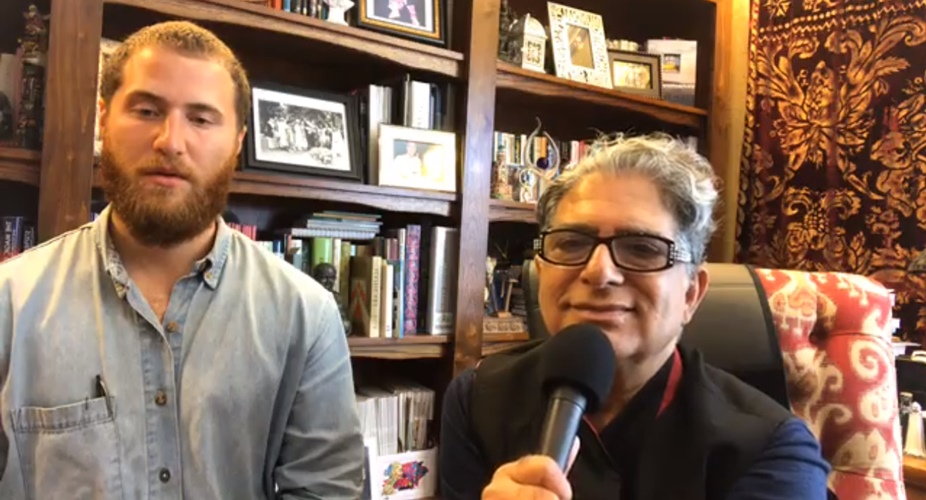 Dr. Deepak Chopra leads a Direct Meditation with Mike Posner - October 4, 2017