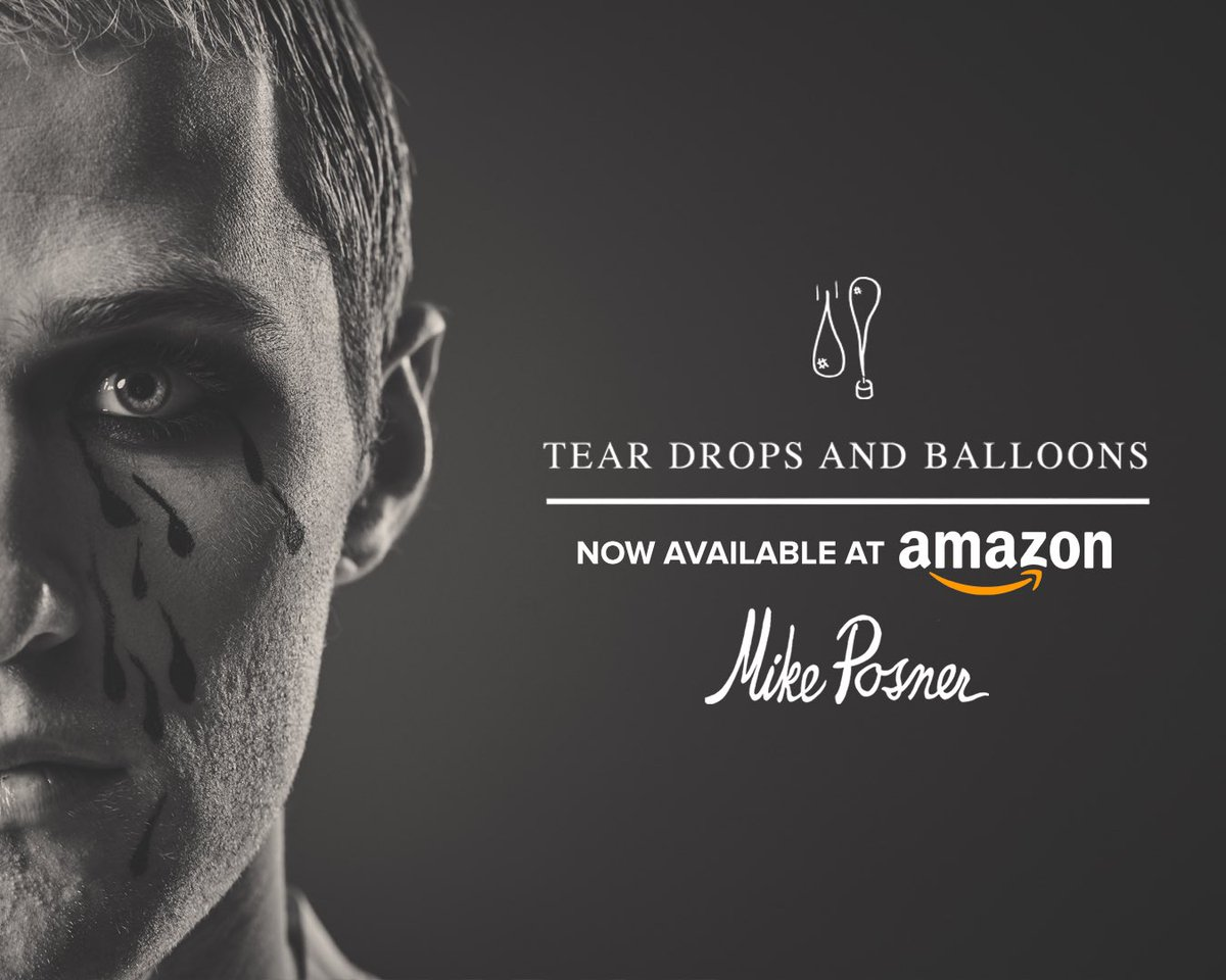 Mike Posner - Tear Drops And Balloons - Now Available at Amazon