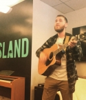 Mike Posner at Island Records in New York, NY on June 9, 2015