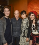 Eric Wong (Island Records), Mike Posner, David Massey (President of Island Records), Laleh, Nova Rockafeller, and Laura Welsh at Island Records Island Life Brunch at SXSW