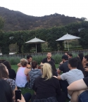 Mike Posner Ninja Show at The Getty - Los Angeles