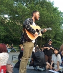 Mike Posner at Washington Square Park in New York, NY on June 9, 2015