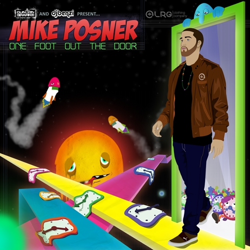 Mike Posner - One Foot Out The Door