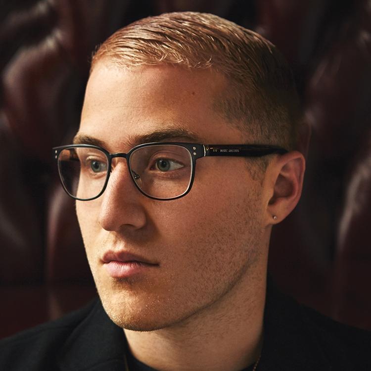 Mike Posner's Diamond earring