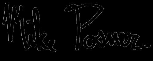 Mike Posner name logo