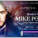 Mike Posner Will Perform at Amnesia and Red Bull Soundclash in Miami