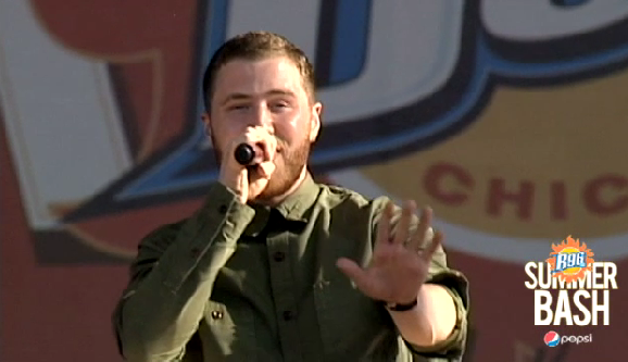 "VIDEO: Mike Posner Performs ""The Way It Used To Be"" at the B96 Pepsi SummerBash – June 15"
