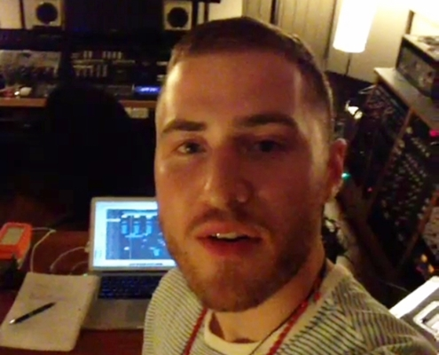 Mike Posner Records New Song in Columbus