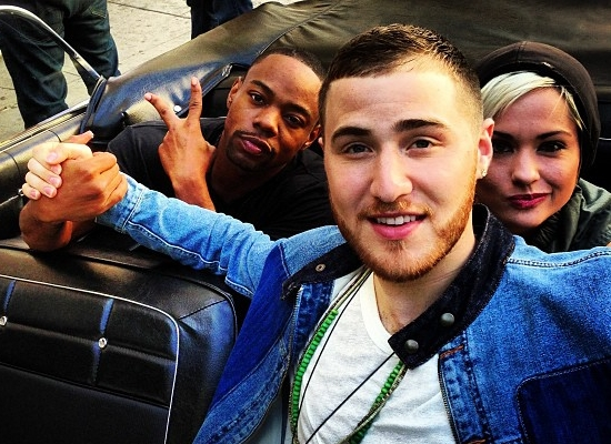 """Mike Posner On the Set of """"The Way It Used To Be"""" Music Video"""