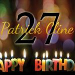 Happy 27th Birthday, Patrick Cline!