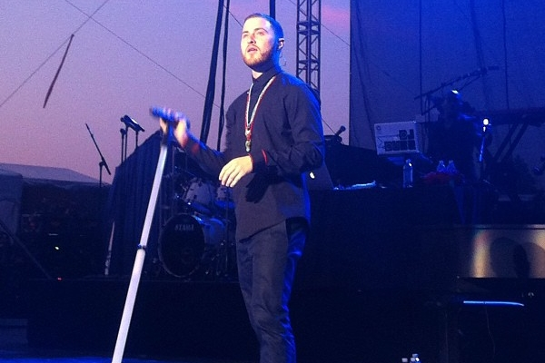 Mike Posner at Illinois State Fair in Springfield – Warrior Tour