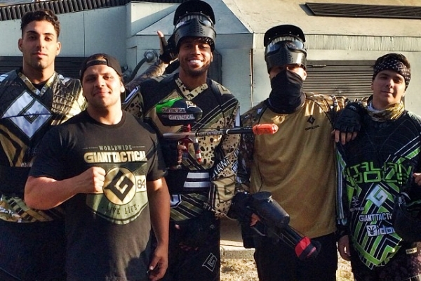 Mike Posner and Friends at Hollywood Sports Paintball Park