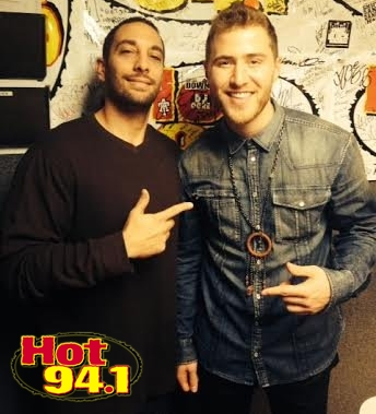 Mike Posner Interview with Randy of Hot 94.1