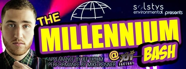 Mike Posner to Perform at The Millennium Bash 2014