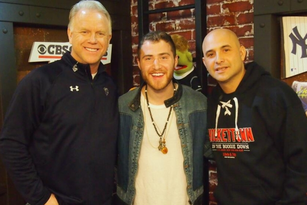 Mike Posner on the Boomer & Carton Morning Extravaganza