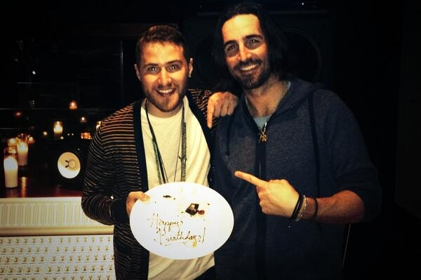 Mike Posner on his 26th Birthday, in the Studio with Jake Owen