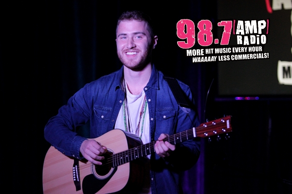 Mike Posner Switch Party With 98.7 AMP Radio