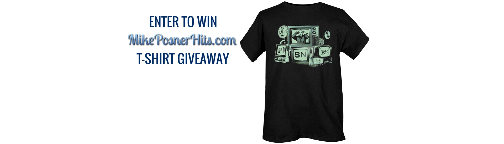 WIN A Mike Posner T-SHIRT!