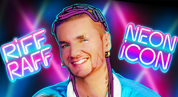 RiFF RAFF 'NEON iCON' – OUT NOW!