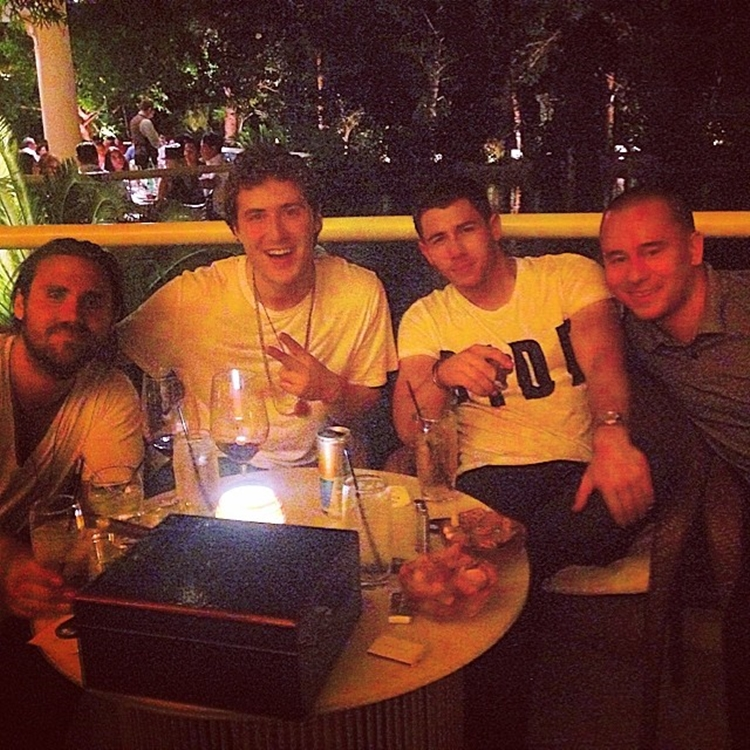 Mike Posner Parties with Nick Jonas in Las Vegas