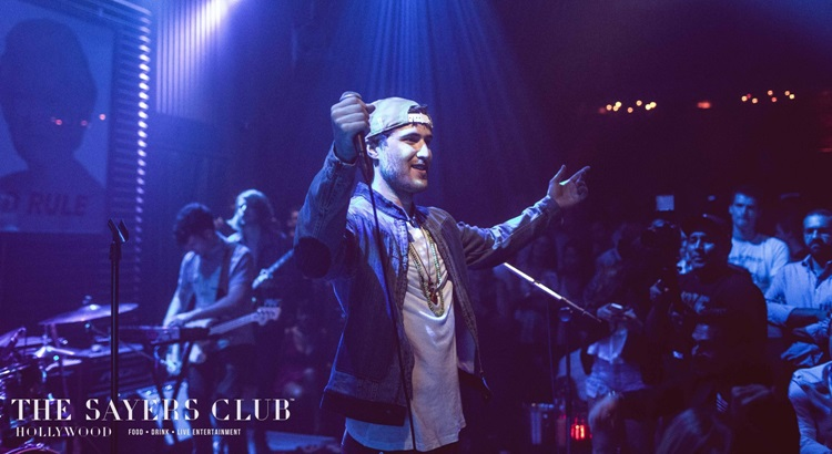 Mike Posner at The Sayers Club 3 Year Anniversary