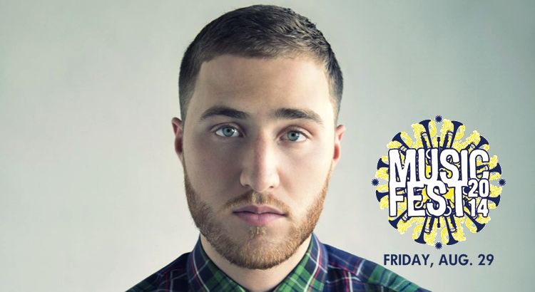 Mike Posner to Perform at Music Fest 2014 – University of Toledo