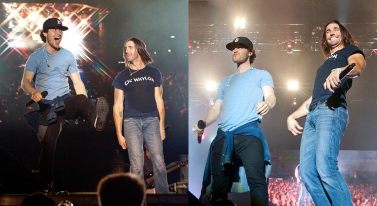 """Mike Posner & Jake Owen Perform """"Cooler Than Me"""" – Nashville"""