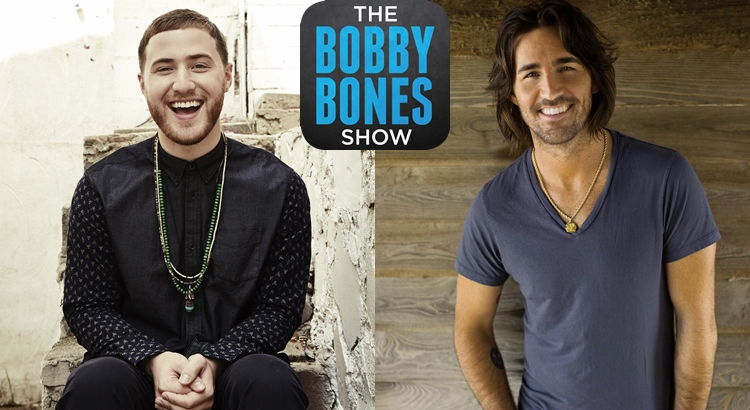 Mike Posner & Jake Owen on The Bobby Bones Show