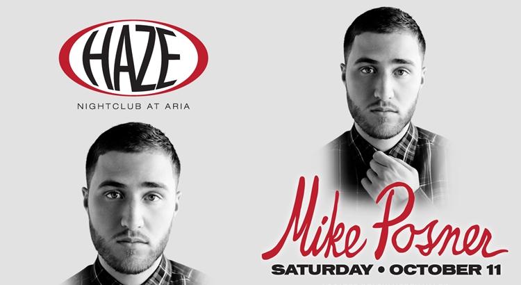 Mike Posner to Perform at HAZE Nightclub in Las Vegas