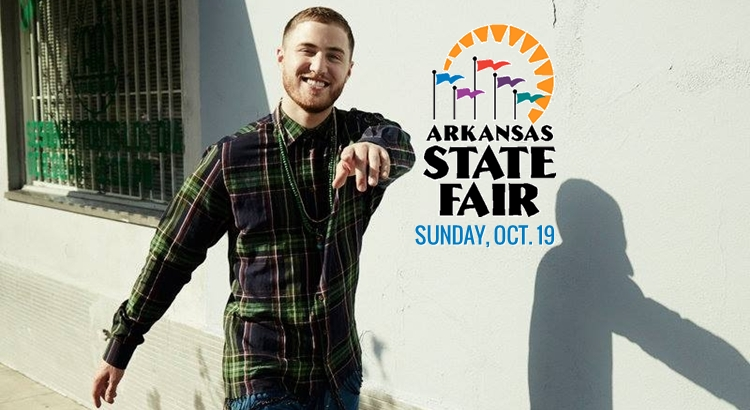 "Mike Posner Covers Sam Smith's ""Stay With Me"" – Arkansas State Fair"
