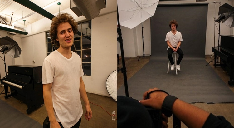 Behind the Scenes Photo Shoot with Mike Posner – Studio6 Los Angeles