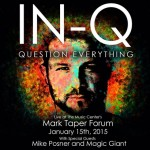 IN-Q, Mike Posner, and Magic Giant Live at the Mark Taper Forum – Los Angeles