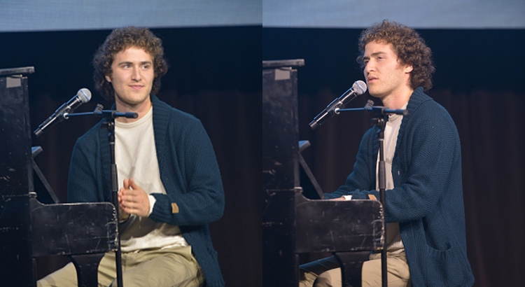 Mike Posner at the 6th Annual 'Night Of Generosity'