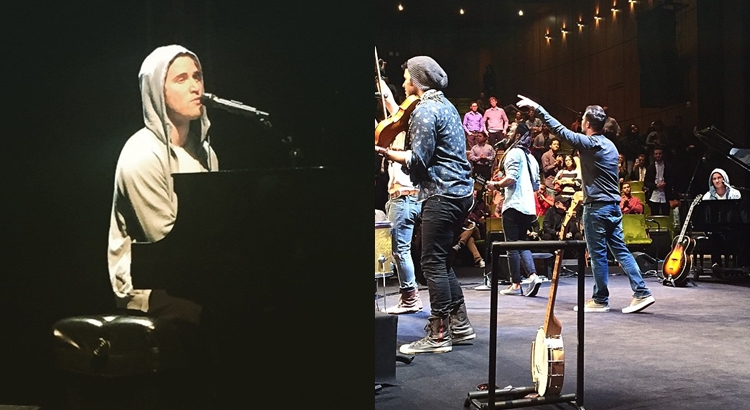 IN-Q, Mike Posner, and Magic Giant at the Mark Taper Forum in Los Angeles