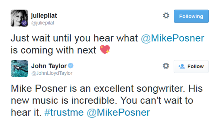 NEW Mike Posner Music in 2015?