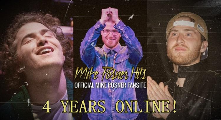 MikePosnerHits.com 4 Year Anniversary