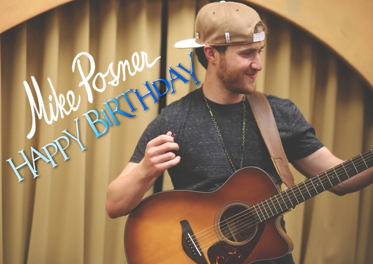 Mike Posner 27th Birthday - February 12, 2015