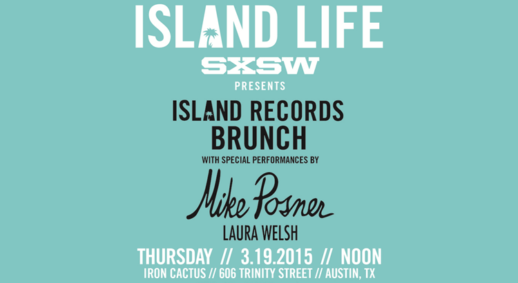 Island Records' SXSW 2015 Island Life Brunch Featuring Mike Posner