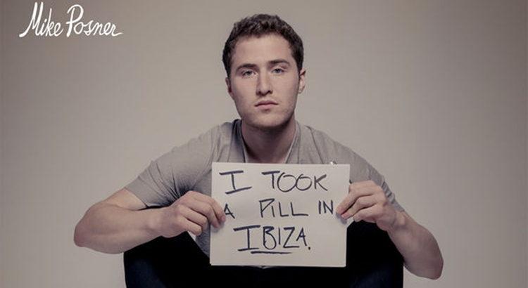 Mike Posner: I Took A Pill In Ibiza