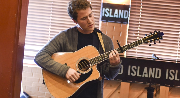 Mike Posner at the Island Records Island Life Brunch at SXSW