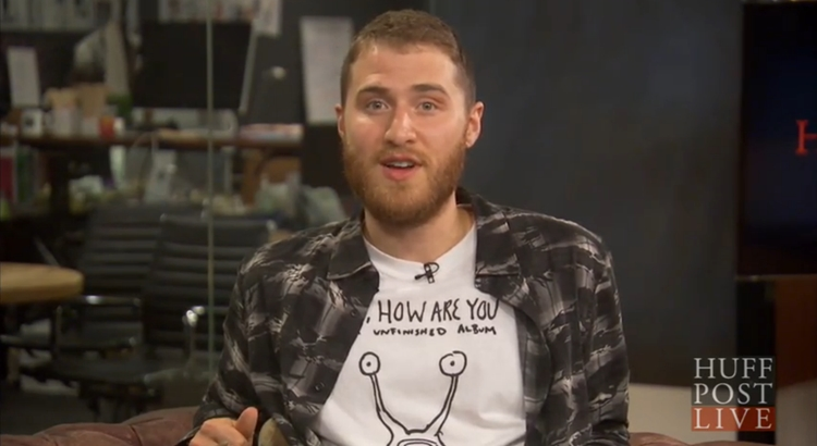 Mike Posner Interview with HuffPost Live