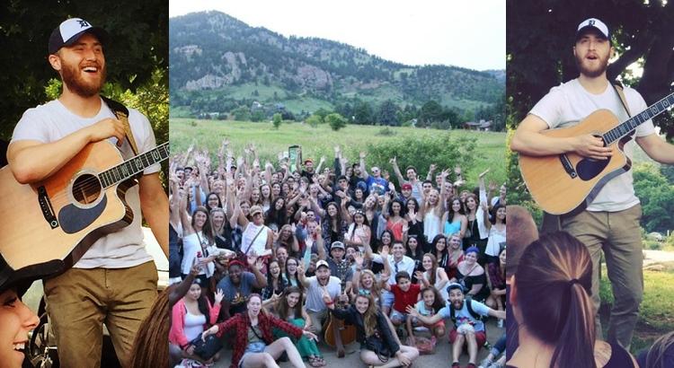 Mike Posner in Boulder – Ninja Tour