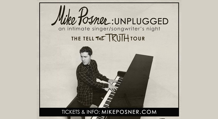 Mike Posner Announces the Tell The Truth Tour