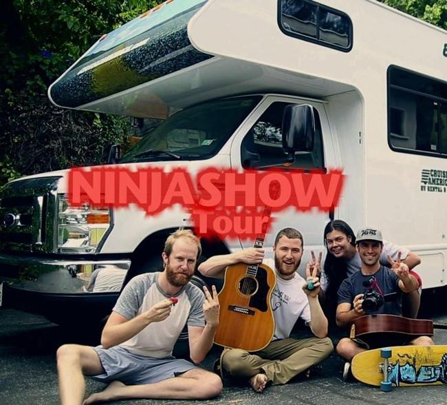Mike Posner Ninja Tour 2015