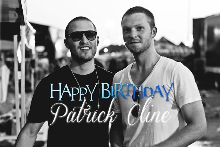 Happy 29th Birthday, Patrick Cline!