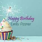 Happy 34th Birthday, Emily Posner!