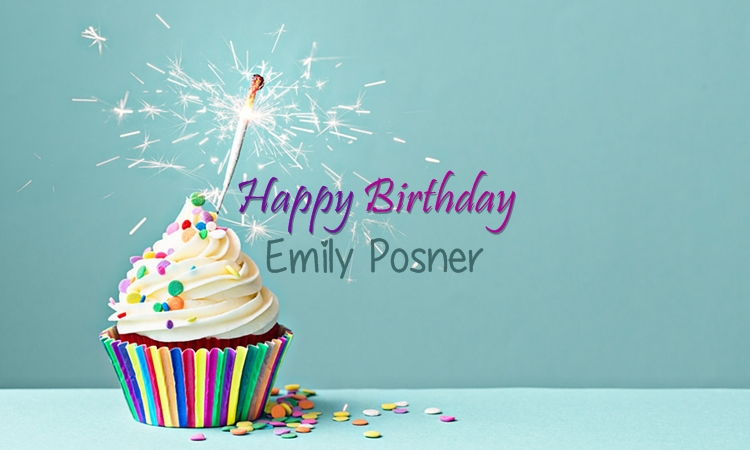 Happy 34th Birthday, Emily Posner!